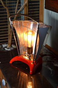 'The Red Devil' Funky Table Lamp/Desk Lamp