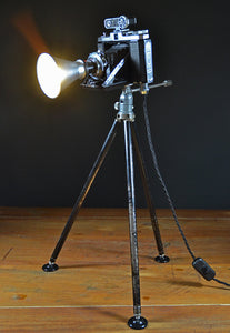 The 'Zeiss Nettar' Camera Table Lamp/Desk Lamp