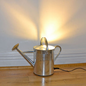 'Watt a Light!' Quirky Watering Can Floor Uplighter