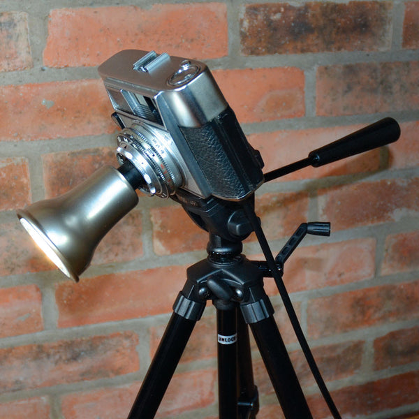 'OPTIMA 1' Agfa camera light TABLE LAMP