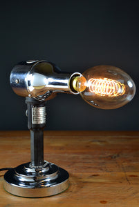 The 'Bouffant' Hairdryer Table lamp