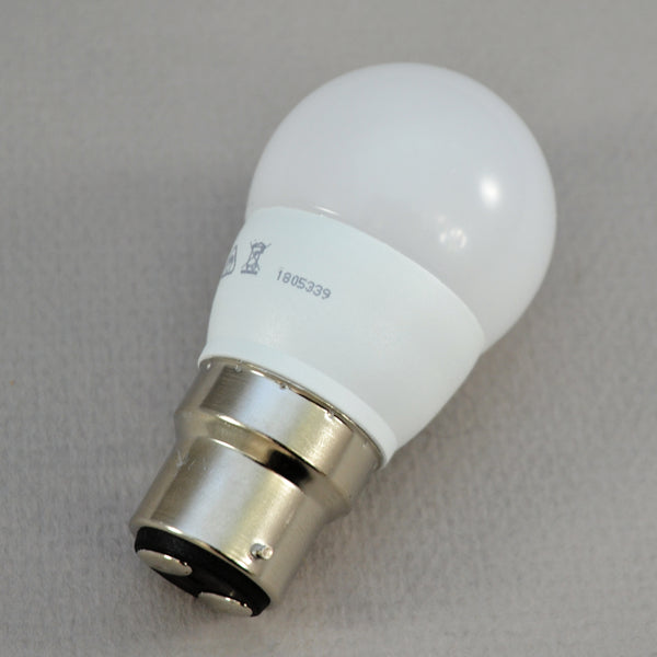 6w warm white LED eco golf ball bulb