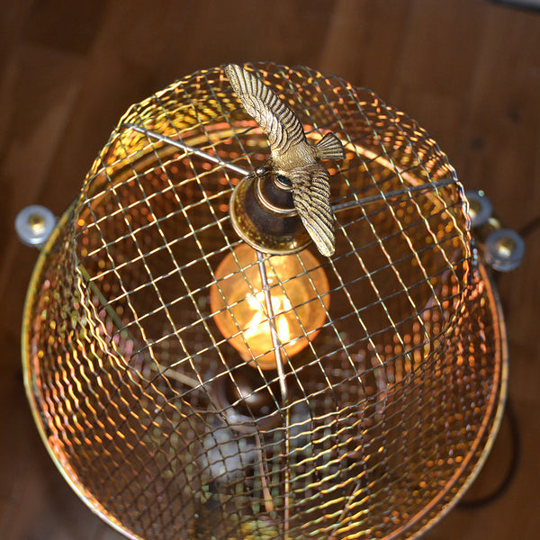 Upcycled Floor light/Table light 'Free as a bird'