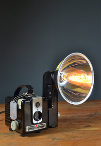 1950s Kodak 'Brownie Hawkeye' Table lamp/Desk Lamp