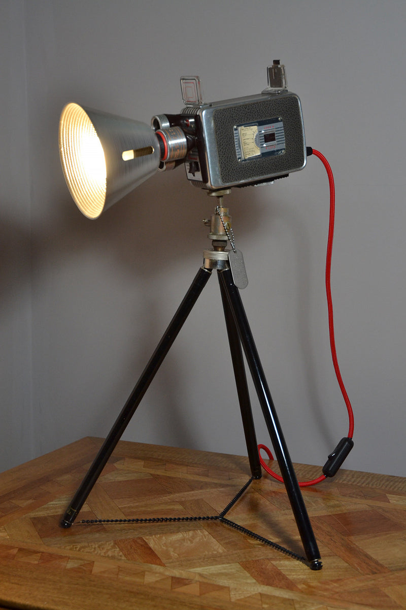 Table Lamp Desk Light Kodak Turret Funky Unusual