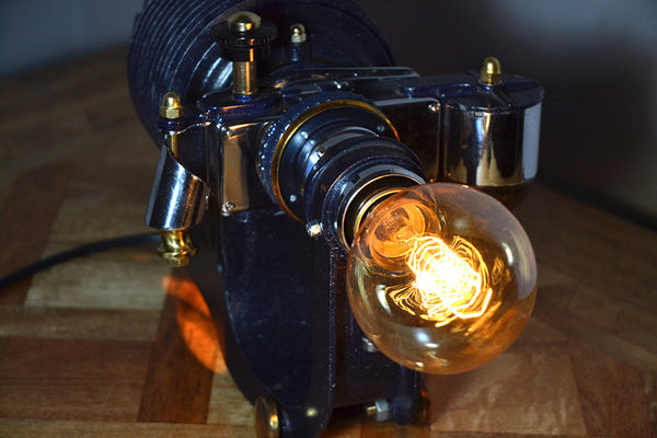 Metropolis Steam Punk table lamp