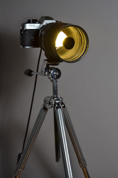 'Mirror Mirror' Camera Table lamp/Desk light