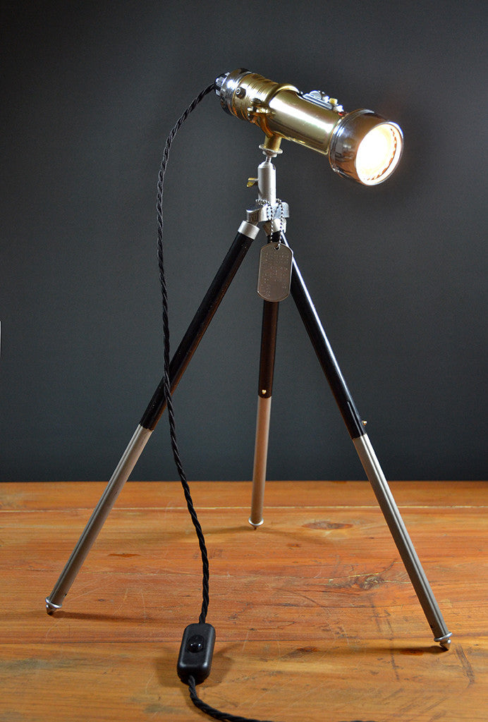 Usherette' Torch Upcycled Table Lamp 'pifco Lampdesk The 6ybvIf7Yg