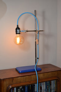 Table lamp/Desk light 'Science Lite' blue