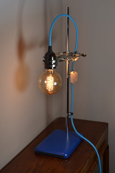 The 'Science Lite Blue' Table Lamp/Desk Lamp
