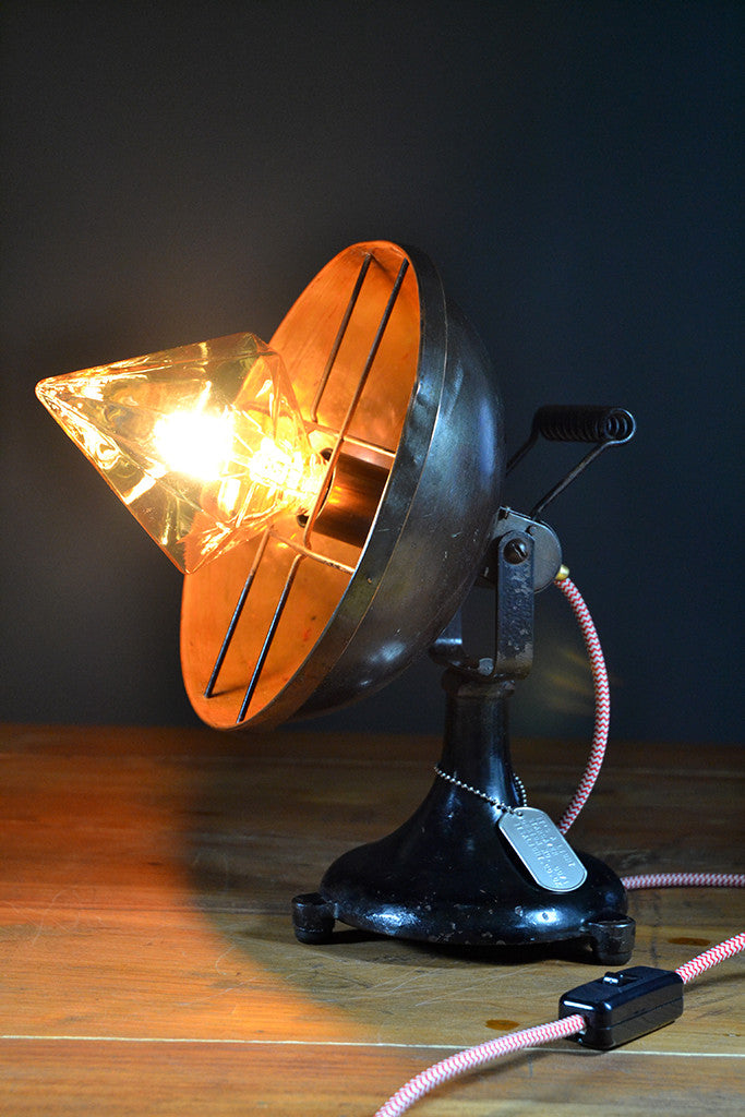 'Stargazer' Mid-Century Modern table lamp
