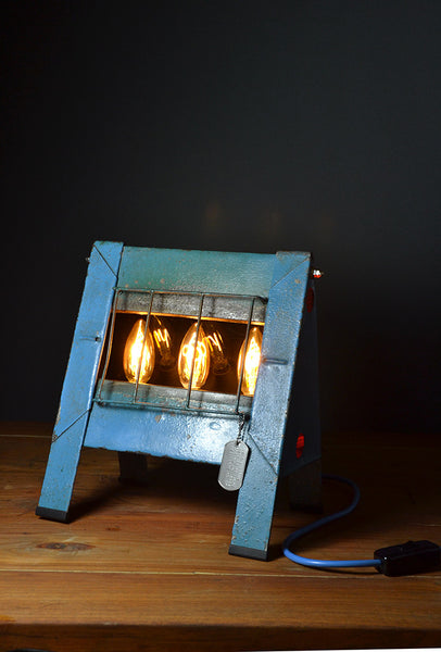 The 'Stesco Fire Light' Mid Century Modern Table Lamp/Desk Lamp