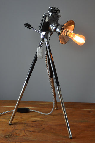The 'Bencini Comet  Hyper Flash' an Original and Unique Table Lamp/Desk Lamp