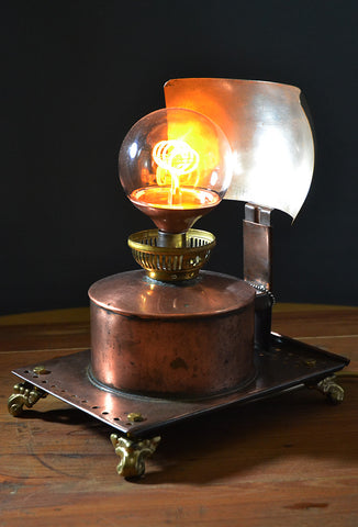 The 'Reflector' funky unusual table lamp