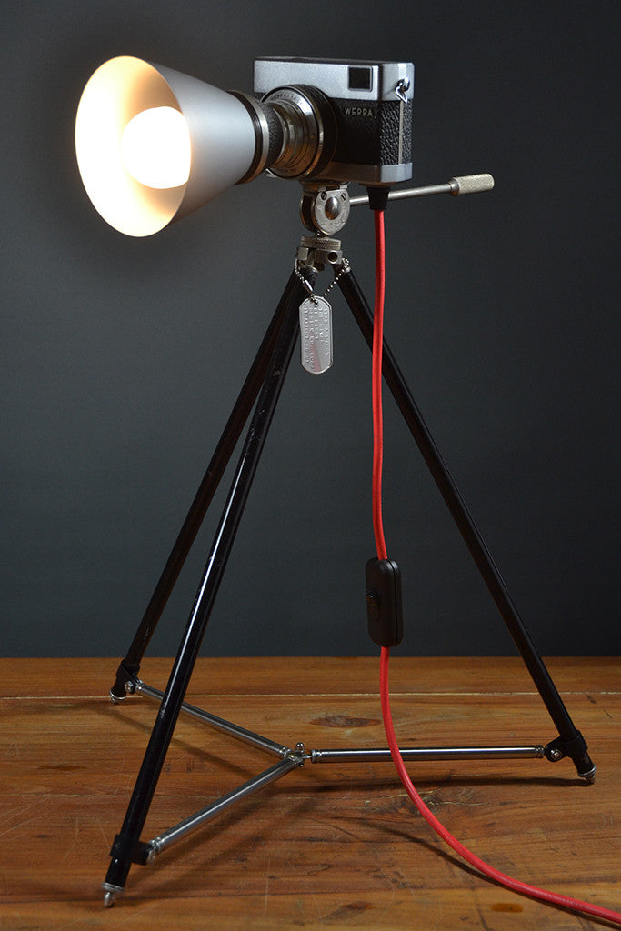 The 'River of light' Table lamp/Task light. Mid-Century Modern Lighting