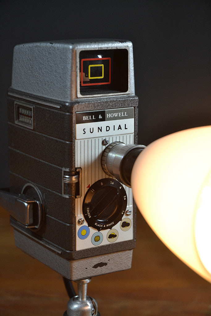 The 'Sundial' Camera Light, Quirky Table Lamp/Desk lamp ...