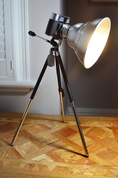 'The Voigtländer Vito' Unique and Original Table Light/Work Light