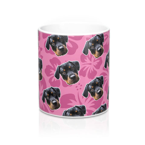 Image of Pink Hawaiian Coffee Mug