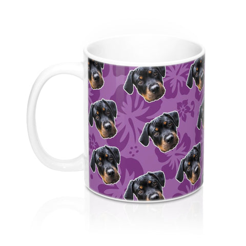 Purple Hawaiian Coffee Mug