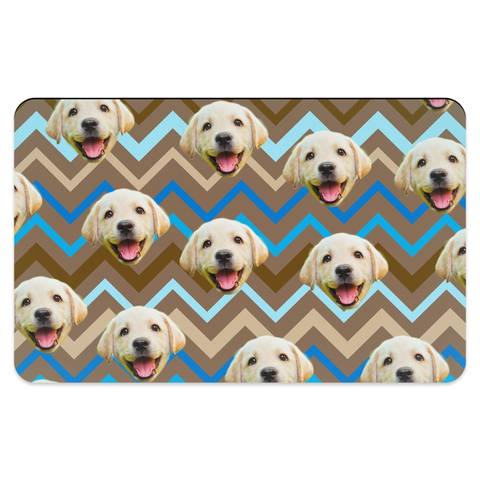 Zig Zag Pattern Pet Placemats