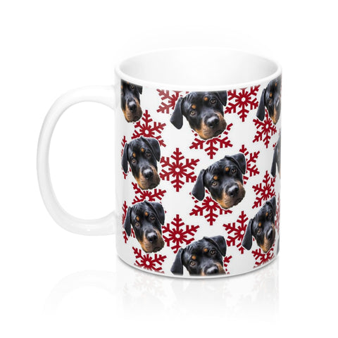 Christmas Snowflake Coffee Mug