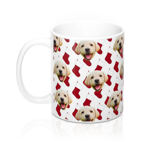 Santa Stocking Coffee Mug