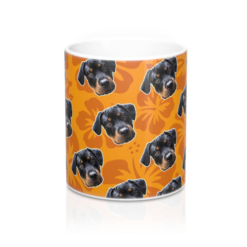 Orange Hawaiian Coffee Mug