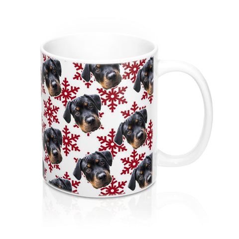 Image of Christmas Snowflake Coffee Mug