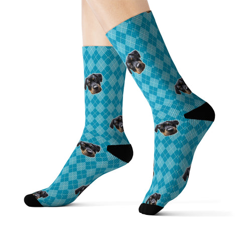 Image of Argyle Sock (Various Colors)