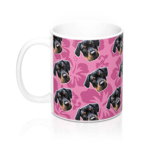 Pink Hawaiian Coffee Mug
