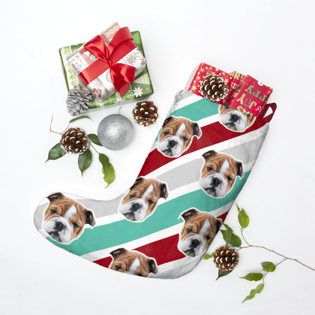 Stripe Christmas Stocking