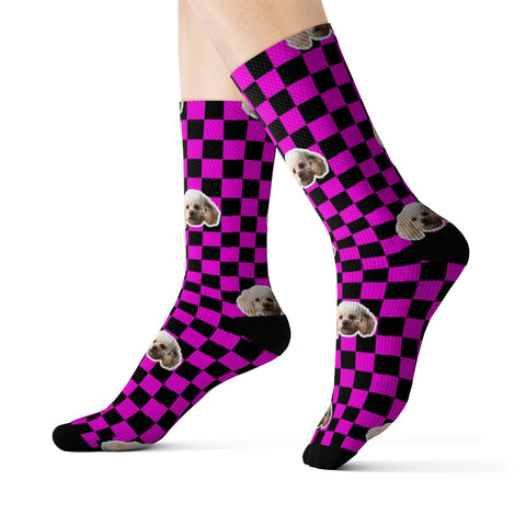 Image of Checker Sock (Various Colors)