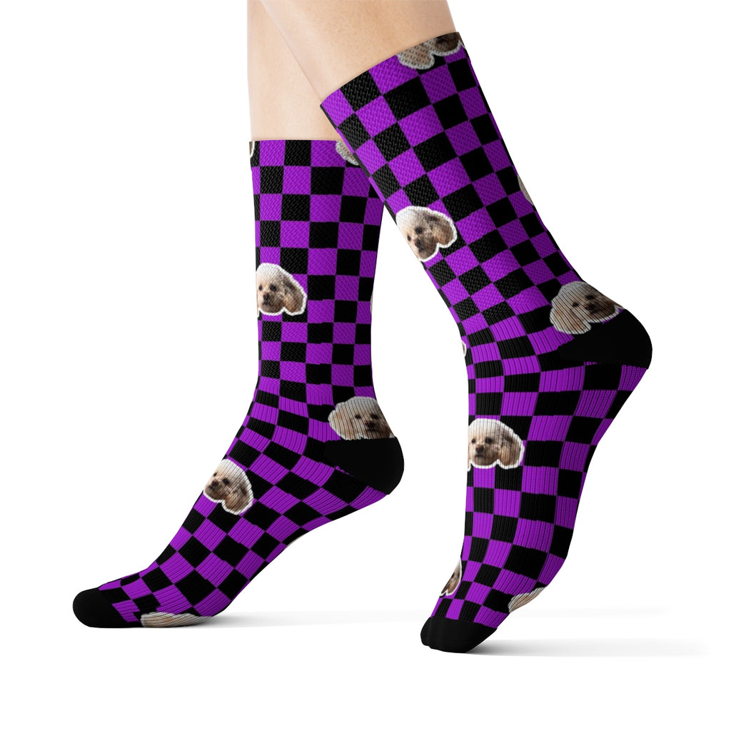 Checker Sock (Various Colors)