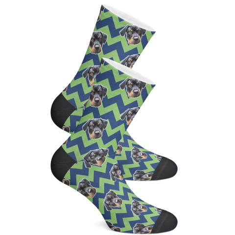 Image of Seahawks Pet Sock