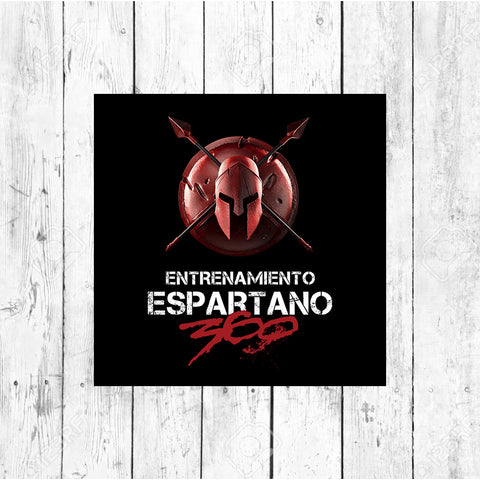Spartan Stickers - Pack x7