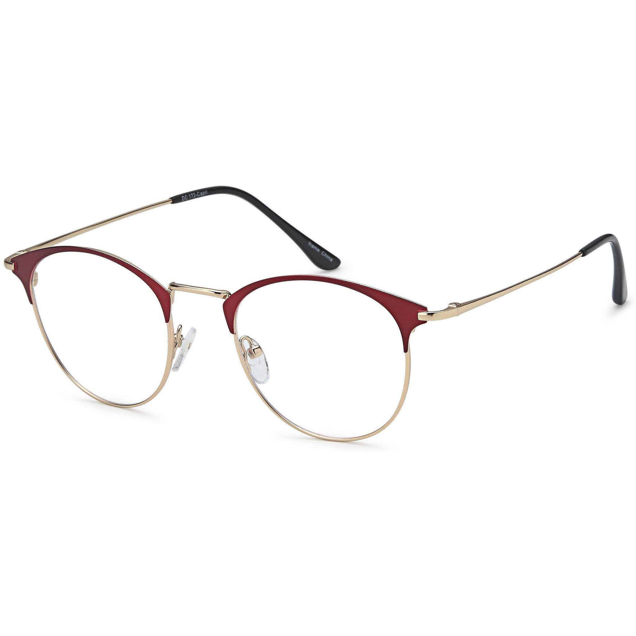 Di Caprio Prescription Glasses DC 172 Eyeglasses Frame - timetoshade