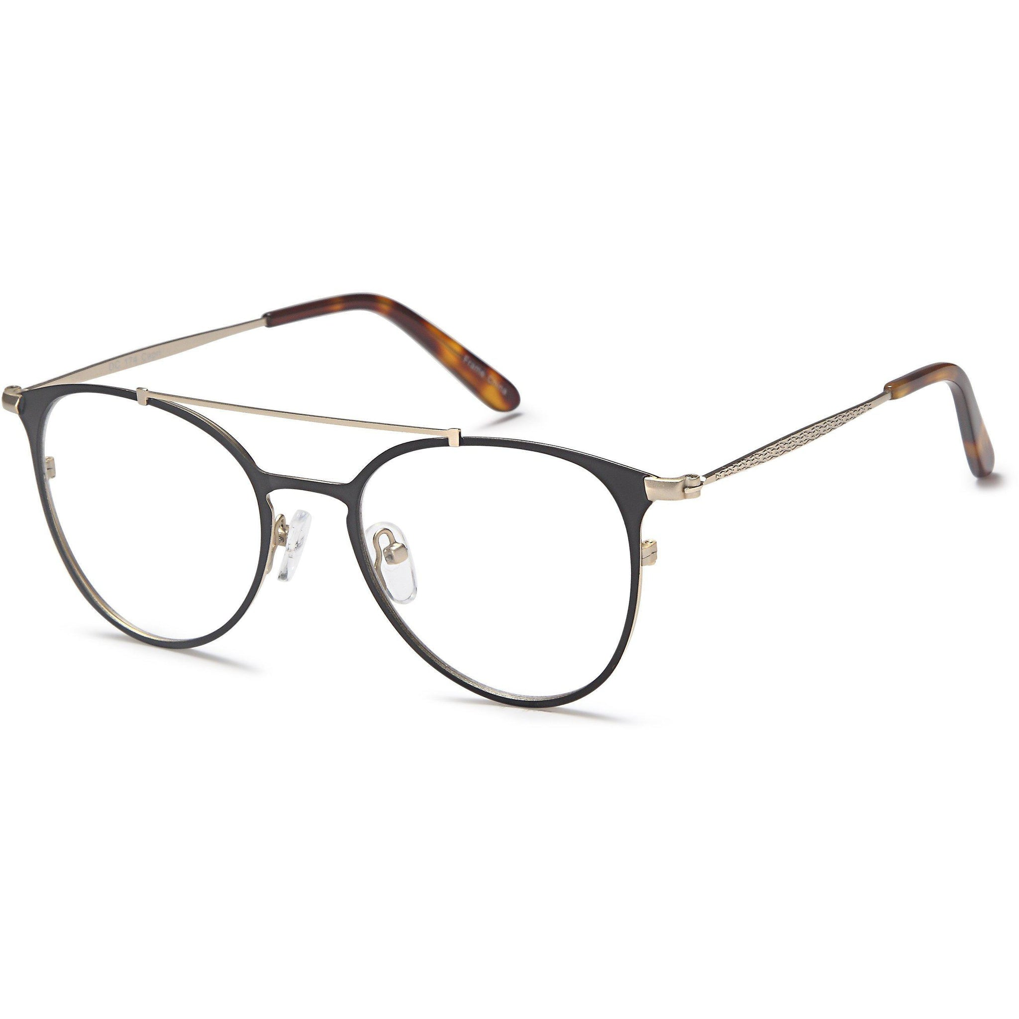 Di Caprio Prescription Glasses DC 174 Eyeglasses Frame - timetoshade