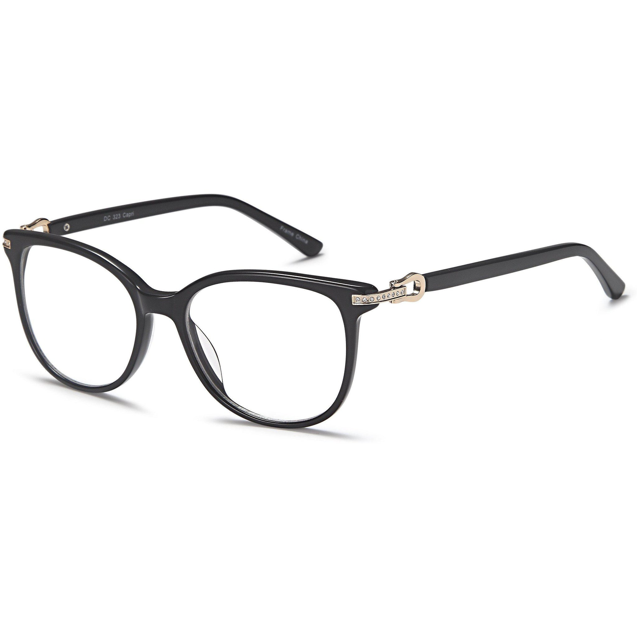 Di Caprio Prescription Glasses DC 323 Eyeglasses Frame - timetoshade