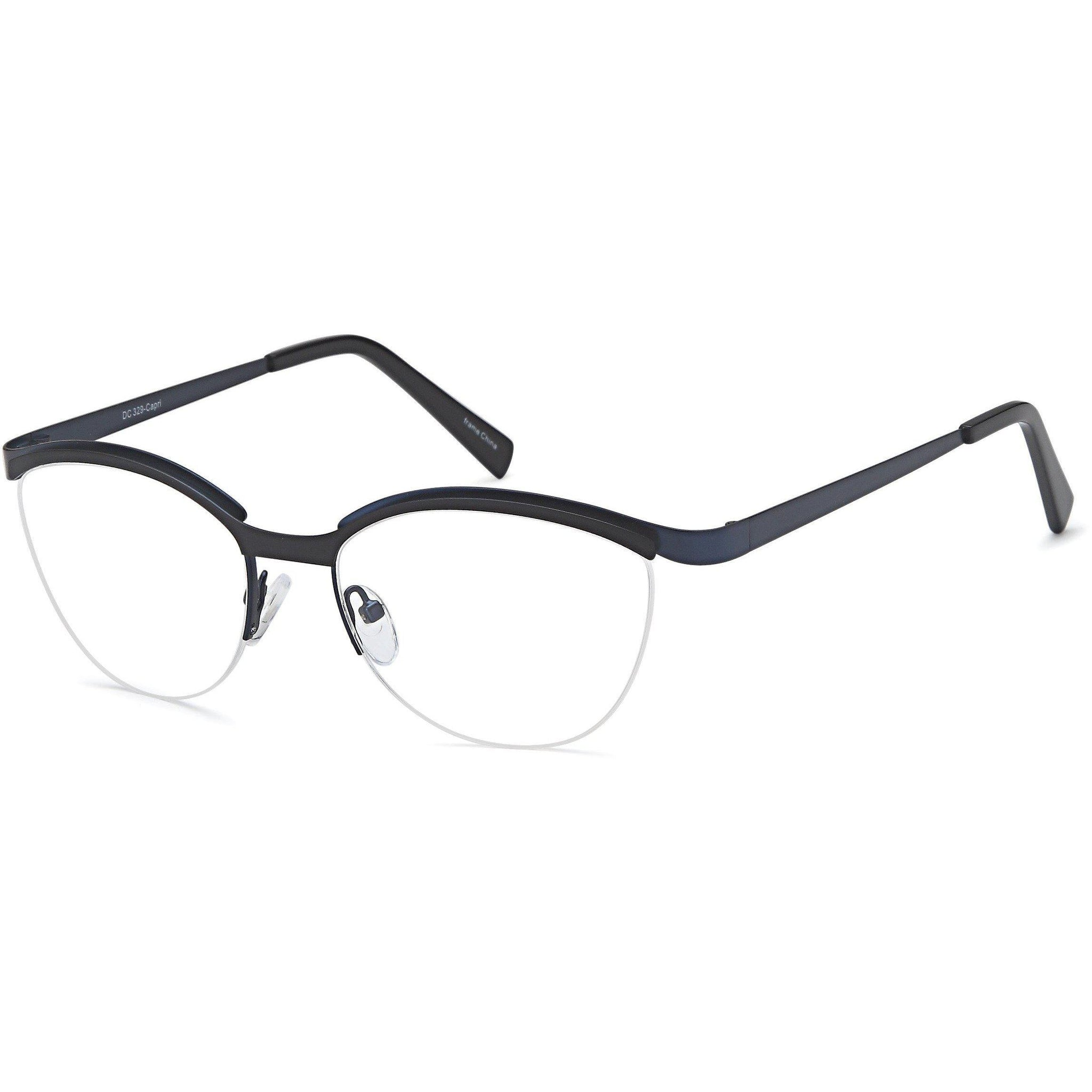 Di Caprio Prescription Glasses DC 329 Eyeglasses Frame - timetoshade