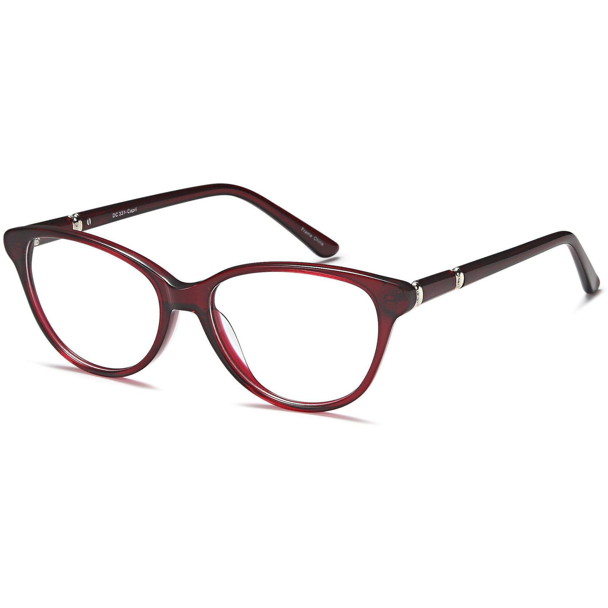 Di Caprio Prescription Glasses DC 331 Eyeglasses Frame - timetoshade