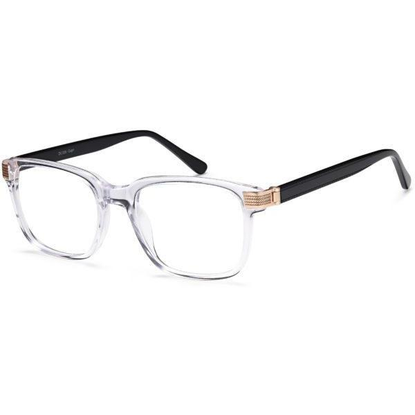 Leonardo Prescription Glasses DC 338 Eyeglasses Frame