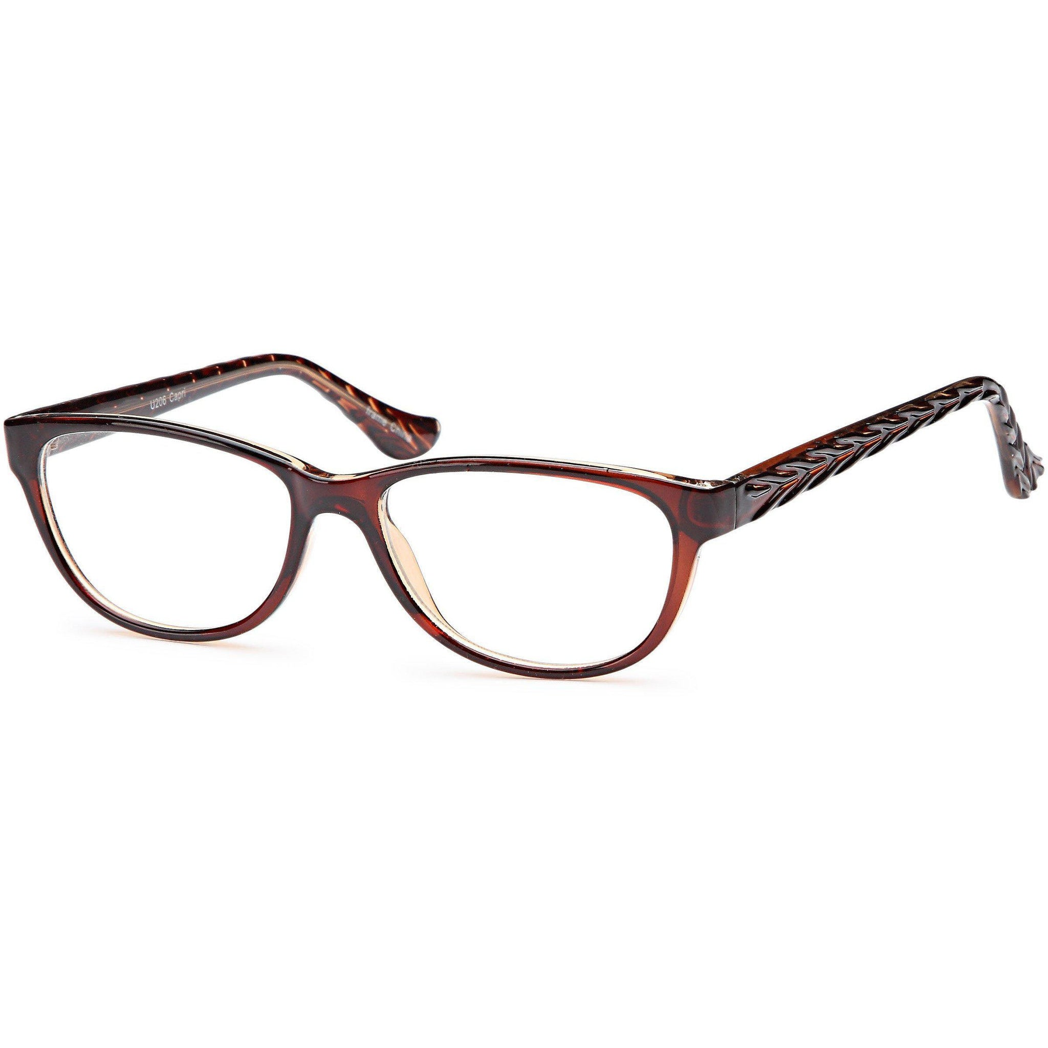 4U Prescription Glasses U 206 Optical Eyeglasses Frame - timetoshade