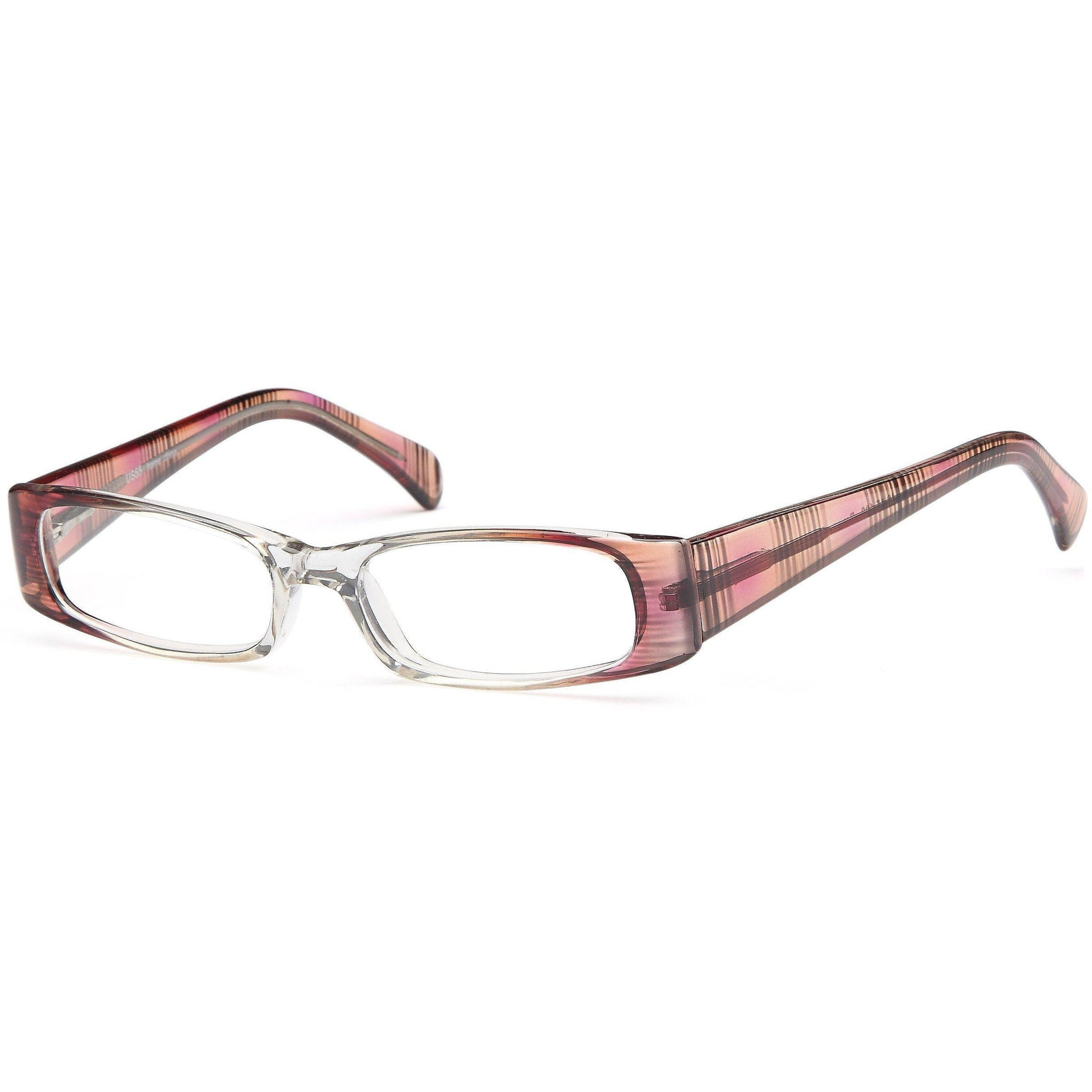 4U Prescription Glasses US 55 Optical Eyeglasses Frame - timetoshade