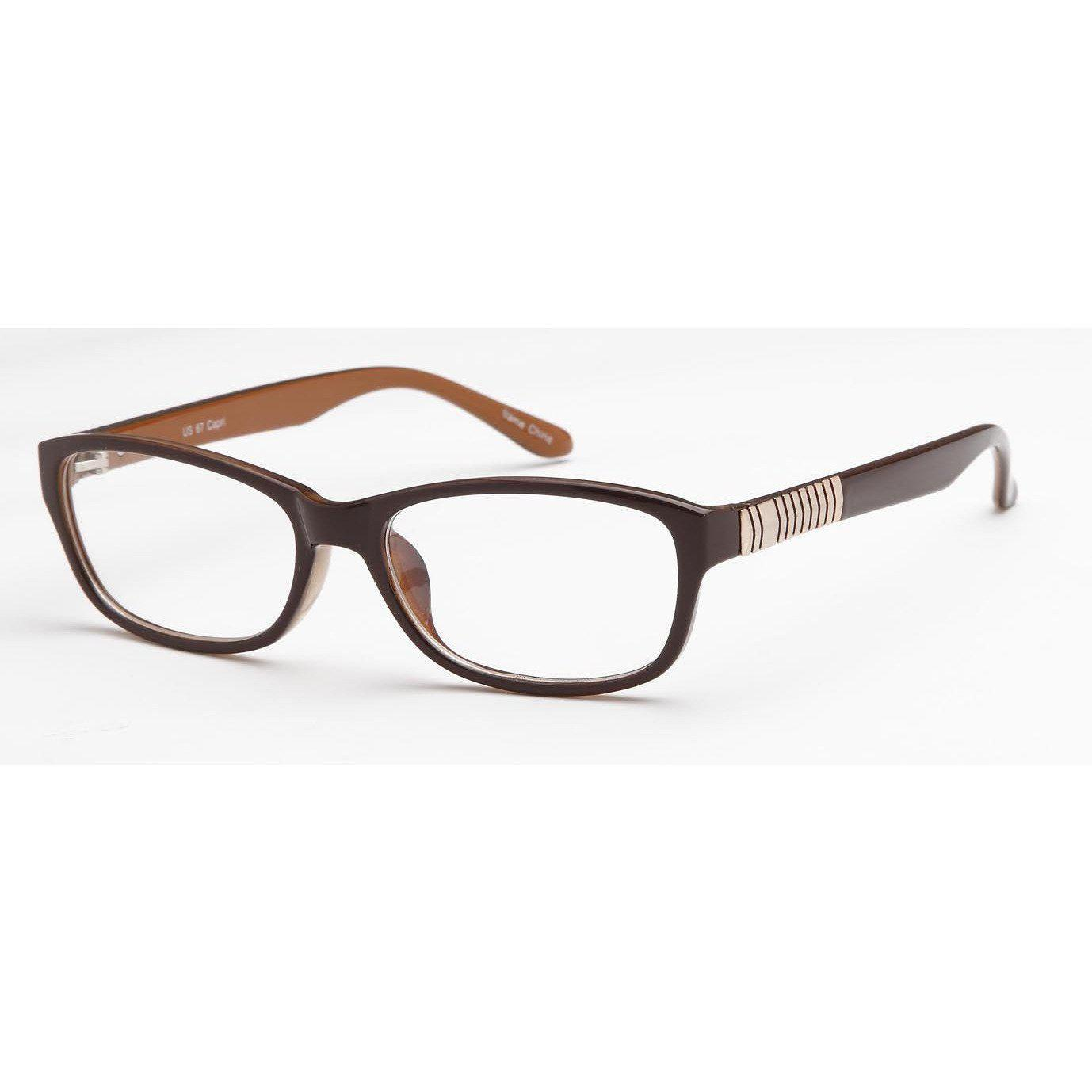 4U Prescription Glasses US 67 Optical Eyeglasses Frame - timetoshade
