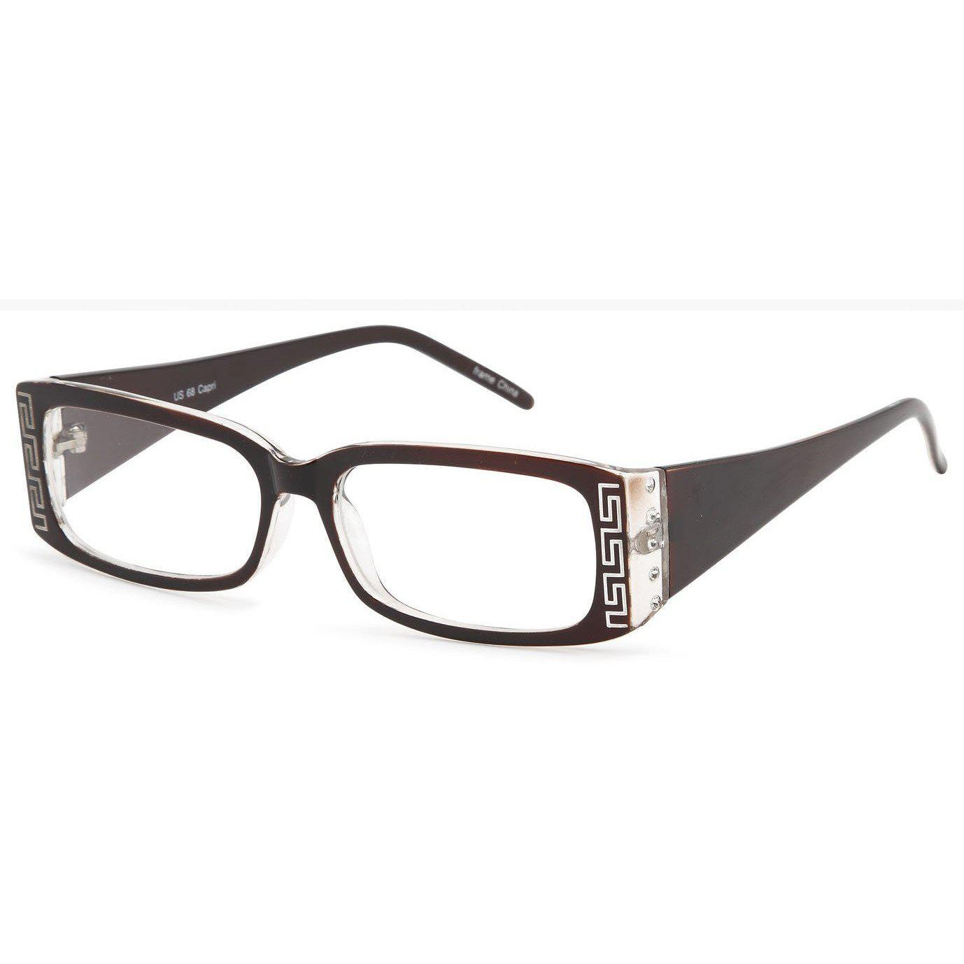 4U Prescription Glasses US 68 Optical Eyeglasses Frame - timetoshade