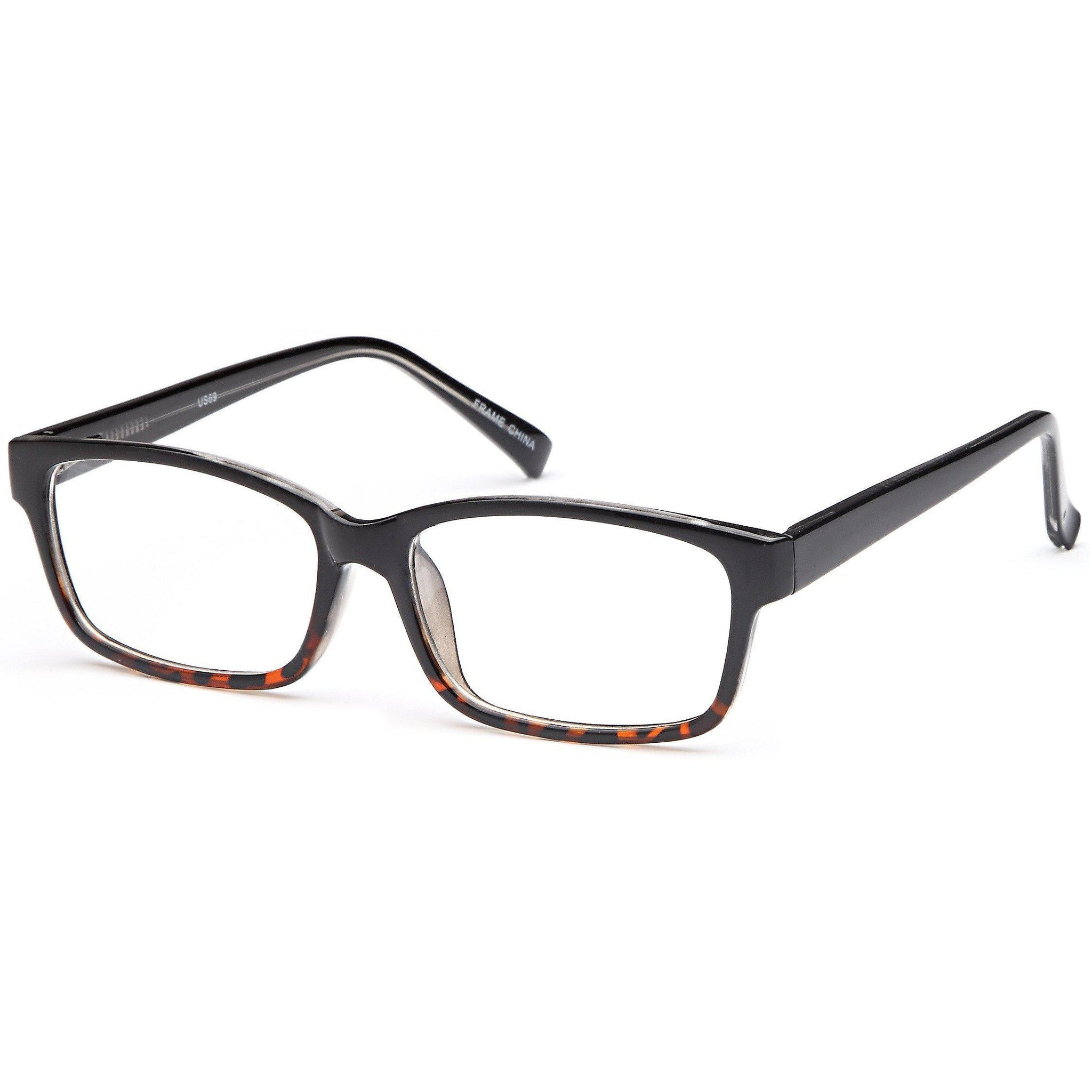 4U Prescription Glasses US 69 Optical Eyeglasses Frame - timetoshade