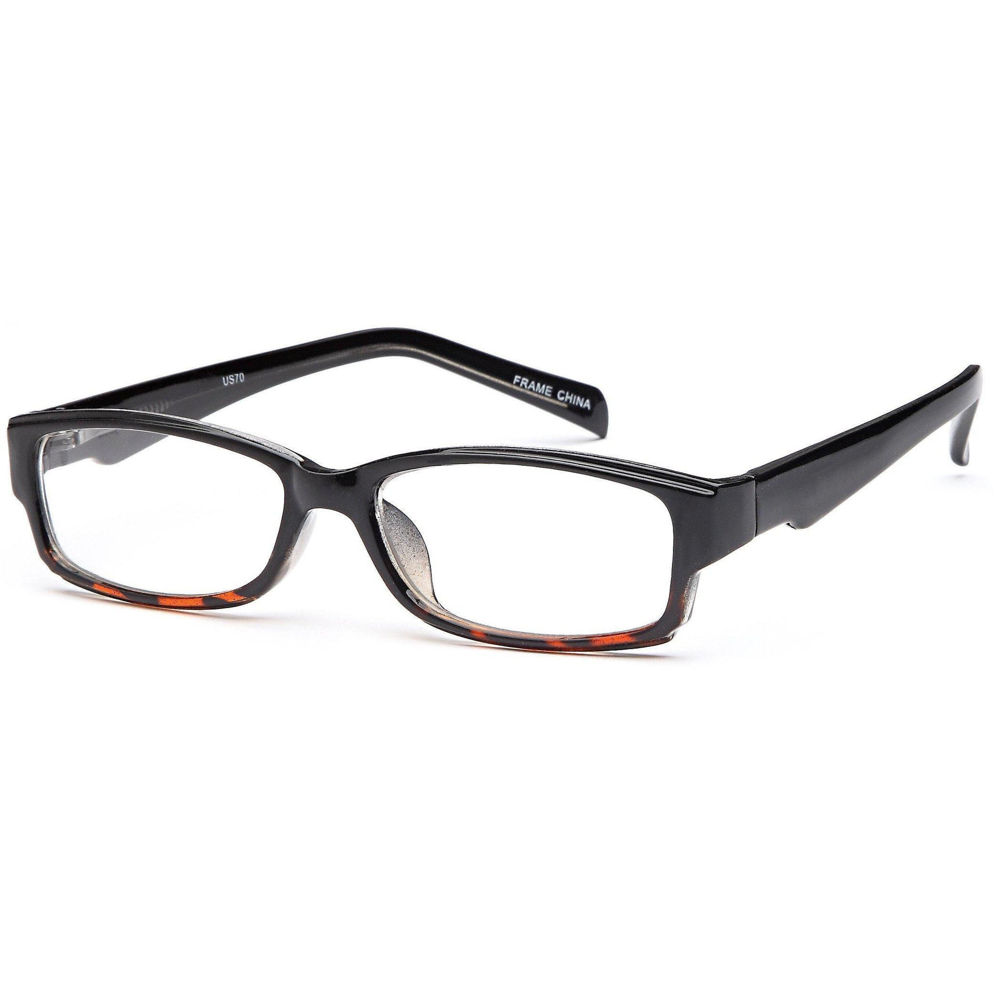 4U Prescription Glasses US 70 Optical Eyeglasses Frame - timetoshade