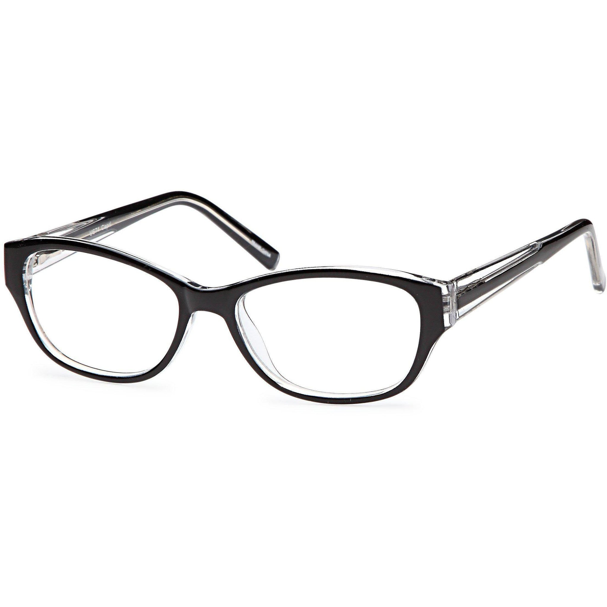 4U Prescription Glasses US 74 Optical Eyeglasses Frame - timetoshade