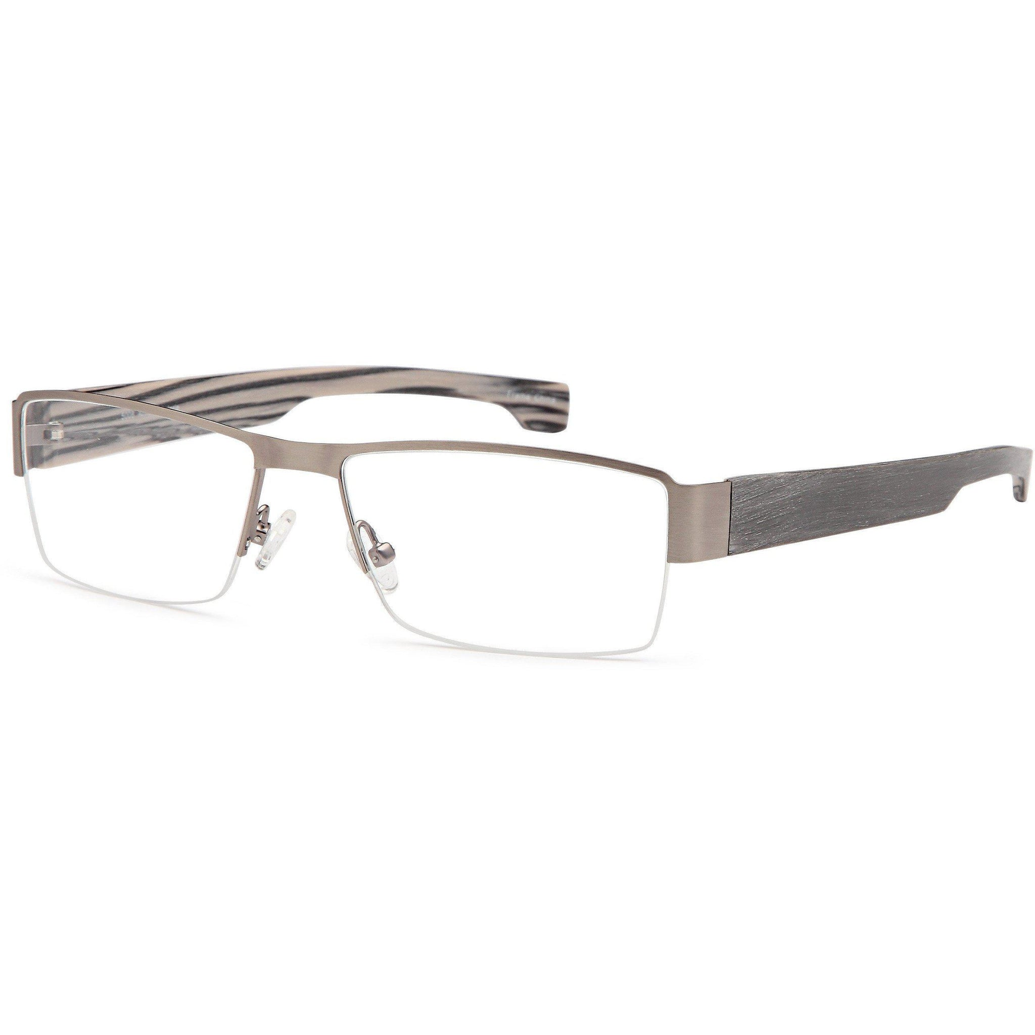 Semi-Rimless Glasses Lens Replacement