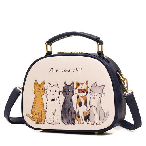 Women Shoulder Bags With Small Cartoons